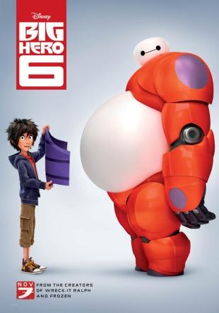 RØRENDE ROBOT: Til alle som ikke har sett «Big Hero 6»: Gjør det! Illustrasjon: Disney/Pressebilde