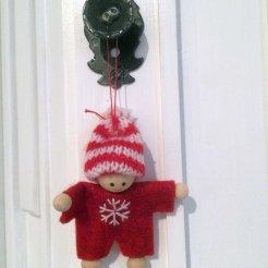 BEGYNNENDE JULESTEMNING: Pynten begynner å komme opp rundt omkring i huset. Foto: Rune S. Alexandersen