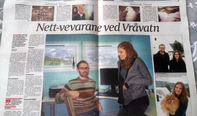 Vest-Telemark har oppdagetoss