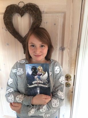 Johanna Bjørnsund (13) fra Horten . Foto: Privat