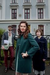 OSLO-KONTOR: Tekstgården har fått nytt kontor i Oscars gate 35 A i Oslo. Her utenfor kontoret. Foto: Anita Arntzen